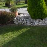 lavori di manutenzione con impianti di irrigazione